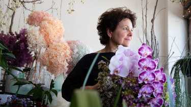 Debbi Weiss said her online flower orders went up when the first shutdowns in NSW began.
