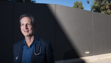 Professor Nigel Curtis is leading the trial of a vaccine to boost the body's immune response to COVID-19.