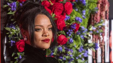 Pop-singer Rihanna.