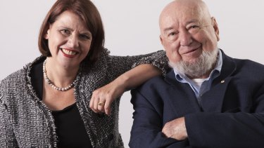 Authors Meg and Tom Keneally