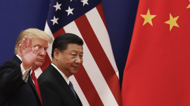 The US-China trade war continues to cast a shadow over global markets.
