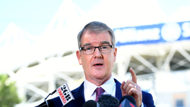 NSW Labor leader Michael Daley says he will not rebuild the stadium at Moore Park.