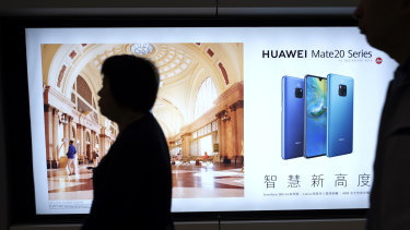 """China considers Huawei the """"point man"""" for its growing technological know-how."""