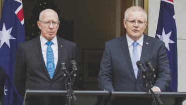 Prime Minister Scott Morrison announces David Hurley as Australia's next Governor-General.