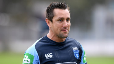 Judgment day: Mitchell Pearce is preparing for the defining game of his career.