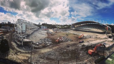Allianz Stadium has been demolished, but surely the funds for a rebuild are now of far more value elsewhere?