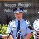 Riverina Police District Commander Bob Noble.