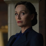 Kristin Scott Thomas as the disapproving Mrs Danvers.