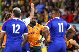 The red card against Marika Koroibete was overturned by the World Rugby judiciary.