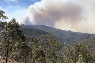 In early December, the Green Wattle Creek fire was only just getting going.