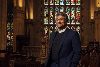 """Anglican churches are keen to avoid """"uncomfortable situations"""" around vaccination status, Archbishop of Sydney Kanishka Raffel says."""