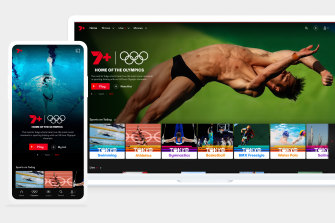 Seven expects the Tokyo 2020 Olympics to boost its user base of 7plus to 10 million.