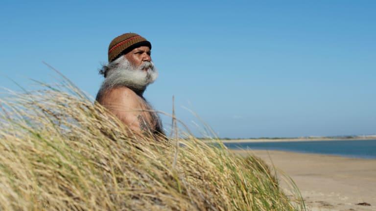 Mr Sumner on Hindmarsh Island near the Murray mouth.