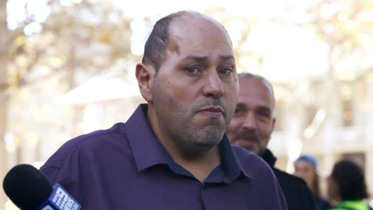 Dib Hanna arrives at court on Thursday.