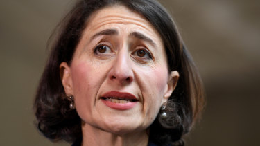 Premier Gladys Berejiklian faces the people today.