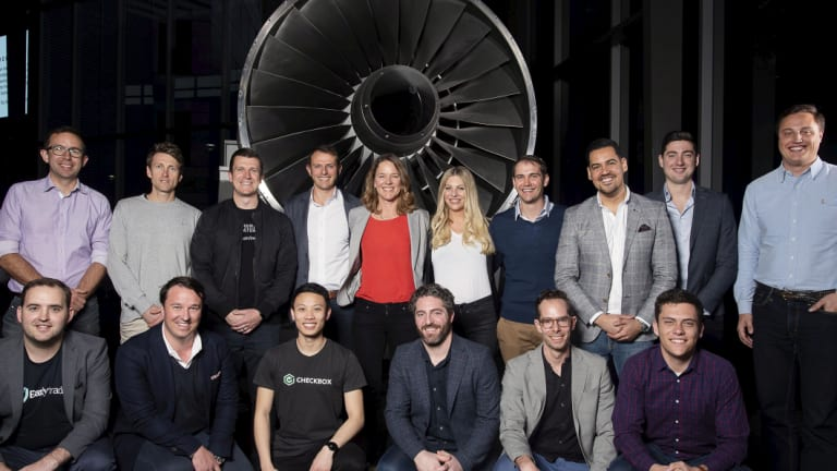 At Qantas HQ the latest round of Avro Accelerator startups and scaleups.