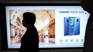 "China considers Huawei the ""point man"" for its growing technological know-how."