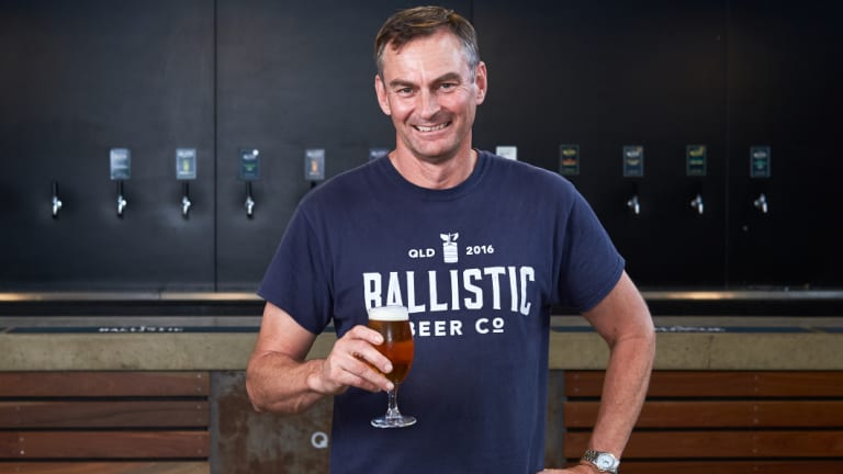 Founder David Kitchen wants to guarantee an outlet for Ballistic Beer Co's beers.