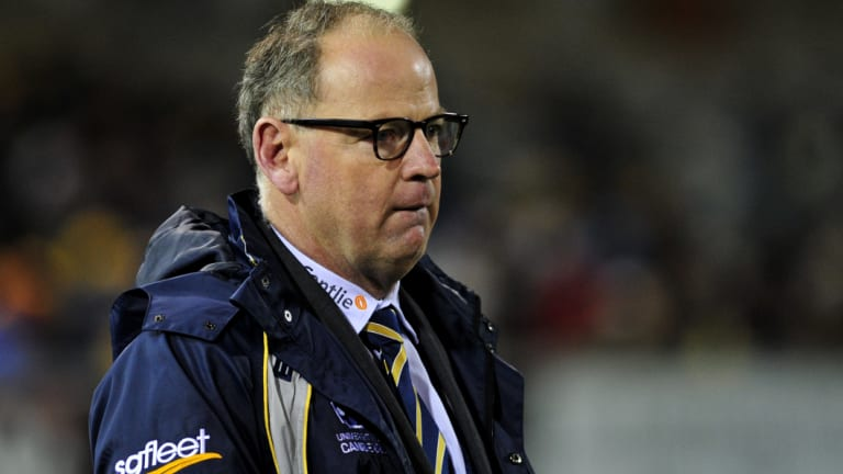 Available: Former Brumbies and Sprinboks coach Jake White is coaching in Japan's Top League