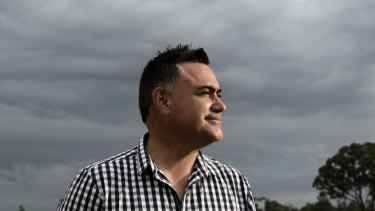 The deputy premier John Barilaro faces the toughest battle of his political career.