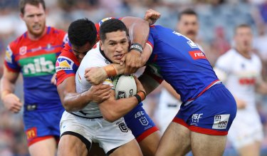 Belmore bound: Canterbury have bolstered their back-line depth by signing Dallin Watene-Zelezniak from Penrith.