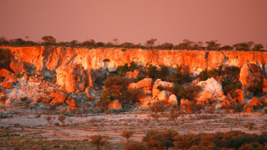 The Granites in Mt Magnet are a popular tourist attraction.