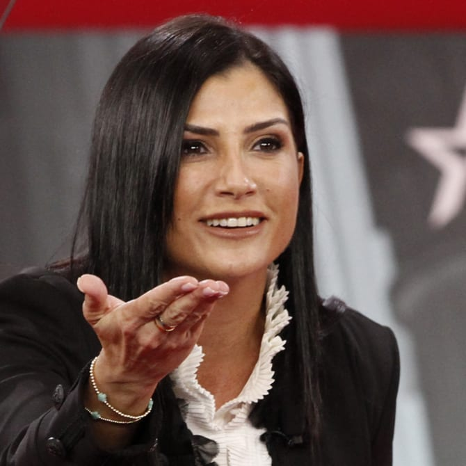 Dana Loesch, spokeswoman for the National Rifle Association, speaks at the Conservative Political Action Conference in 2018.