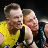 Riewoldt fined for low blow as Tigers count cost of loss to Port