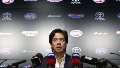Good Weekend Talks: Portrait of AFL boss Gillon McLachlan in a time of crisis