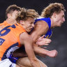 Naughton cleared, 15 fined for Dogs, Giants melee