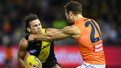 Richmond coach reveals pre-game doubts on Rioli