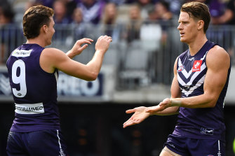 The Dockers recorded a hard-fought win at home over the Hawks.
