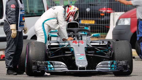 Hamilton vows to drive as if his life depended on it after qualifying dramas