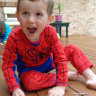 Child in a Spider-Man suit seen in the back of a car the morning William Tyrrell disappeared