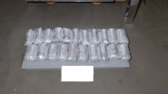 More than 20kg of meth seized, drugs were hidden in an industrial oven