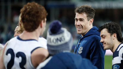 Cameron to miss GWS clash, but Cats' forward very close