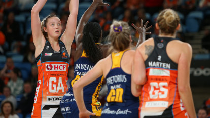 NSW blues: Lightning strike to take top spot from Giants, Swifts fall to Thunderbirds