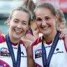 Three cheers as Brisbane Lions break AFLW hoodoo