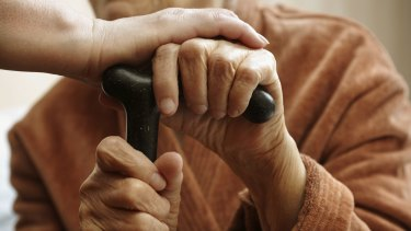 No more than two people can visit a nursing home under new restrictions.