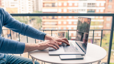 Working from home for at least one or two days a week may be the norm for many Australians after the pandemic.