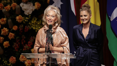 Blanche d'Alpuget (left) has been diagnosed with cancer.