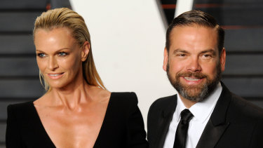 Lachlan and Sarah Murdoch, preparing to celebrate 20 years married.