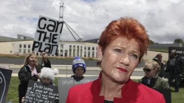 Pauline Hanson wants academic freedom enshrined in the government's new education bill.