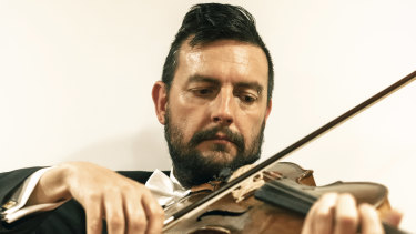 Christopher Moore, principal viola at the Melbourne Symphony Orchestra.