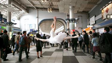 Lisa Tomasetti's Shinagawa Station, Tokyo 2014