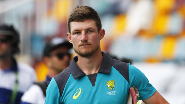 Cameron Bancroft has impressed since his return to the Test squad.