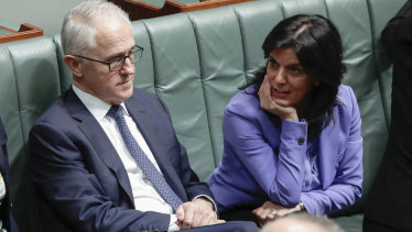 """In a statement, Ms Banks said voters in her electorate wanted Mr Turnbull and Julie Bishop to remain the leadership team. """"So did I,"""" she wrote."""