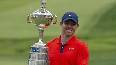 Collector: Rory McIlroy has added to his swag of national open titles.