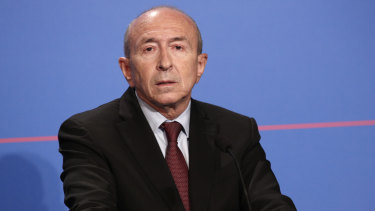 French Interior Minister Gerard Collomb.