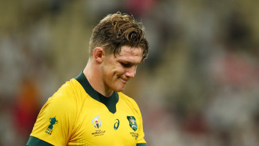 Michael Hooper has expressed the hurt the Wallabies are feeling.